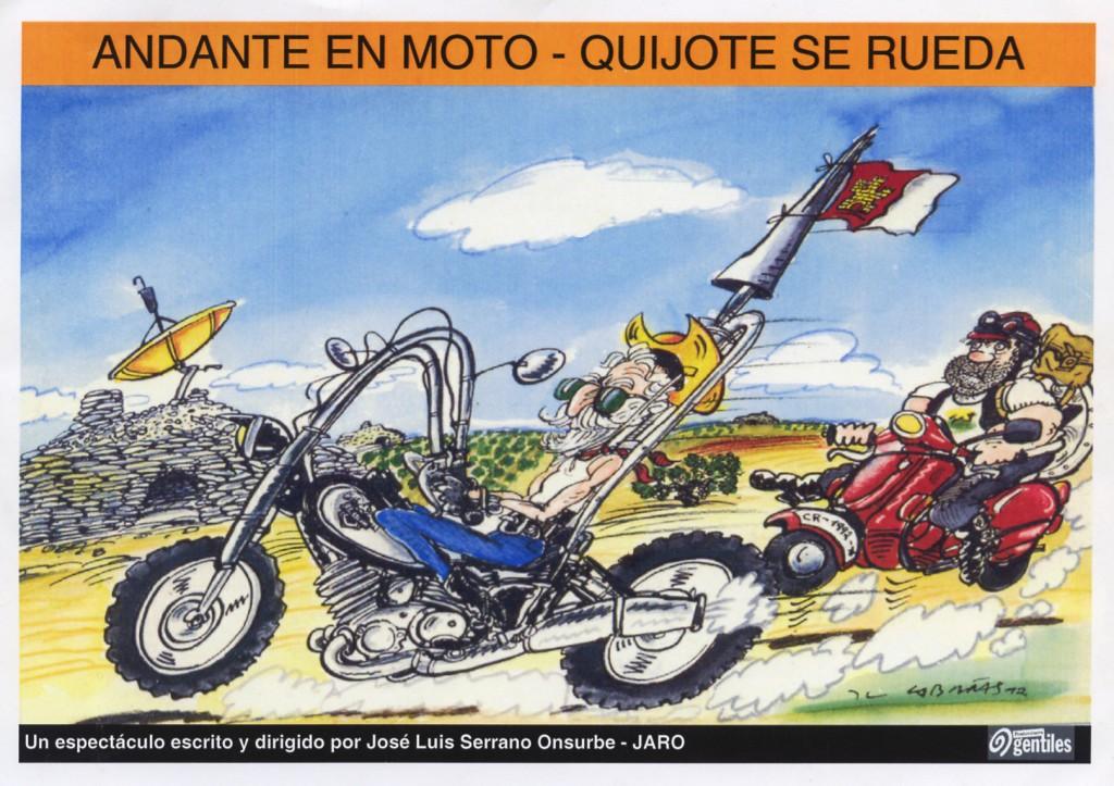 Andante en moto, Quijote se rueda II